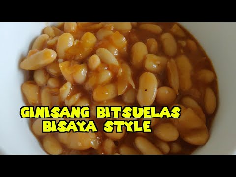 GINISANG BITSUELAS BISAYA STYLE | FILIPINO CANNELLONI BEANS | Eat Pinoy Recipes