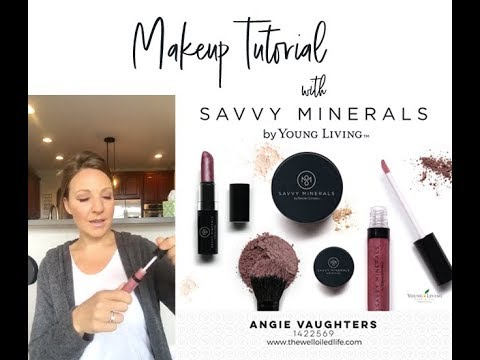 Savvy Minerals Makeup Tutorial