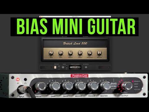 BIAS Mini Guitar Demo with BIAS Amp 2