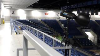 How to Strobe a Basketball Arena: Part II (small college 5,000 seats)