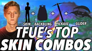 Tfue's TOP Skin Combos in Fortnite!