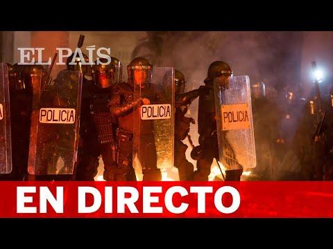 DIRECTO  Manifestaciones en CATALUÑA