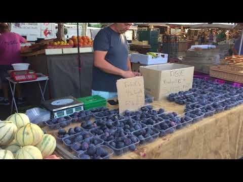 SANARY sur MER - le marché - le Port