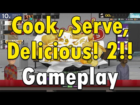 Cook, Serve, Delicious! 2!! Gameplay  