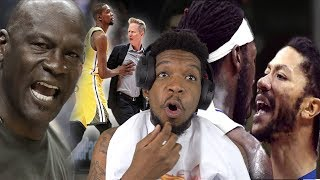 "JORDAN SLAPPED HIM!! NBA ""TrashTalking & Heated"" Moments [2018-19]"