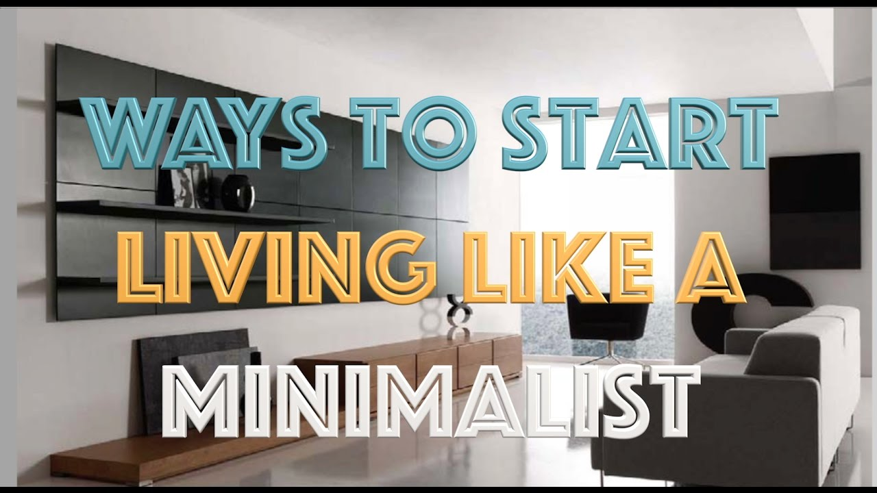 picture How to Live Like a Minimalist