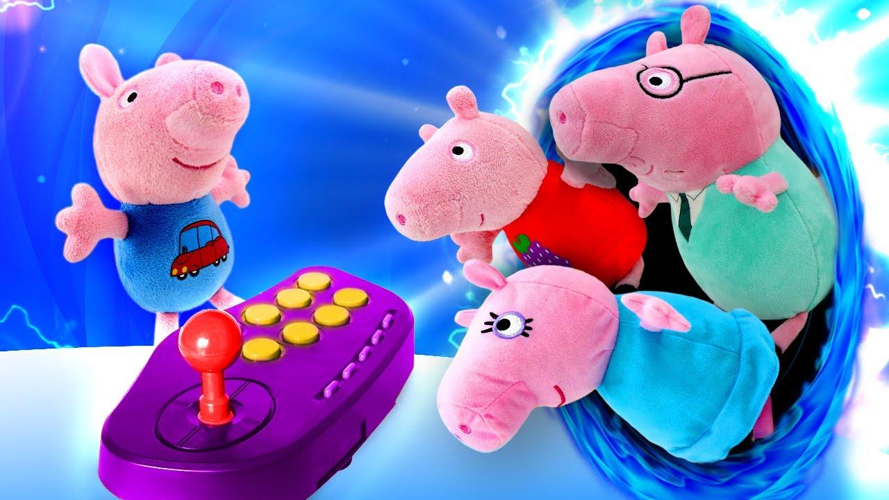 Peppa Pig fez uma viagem ao futuro! Peppa Pig e sua família em português