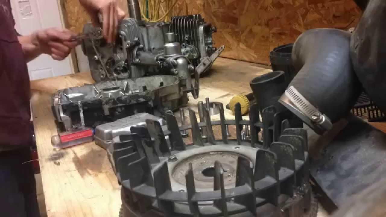 Time Lapse Disassembling A Kawasaki Engine