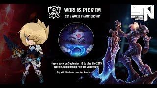 League of Legends Worlds Pick'em Challenge - Osvojite Championship Riven