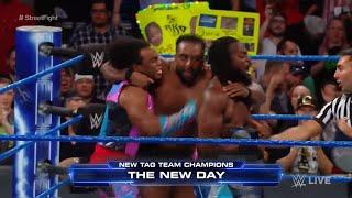 WWE Wal3ooha: نزال الشوارع بين ذا أوسوس و نيو داي