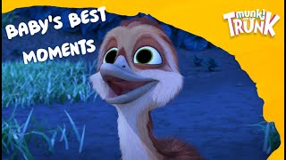 Baby Ostrich's Best Moments – Munki and Trunk Thematic Compilation #22