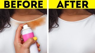 17 SIMPLE WAYS TO REMOVE STAINS
