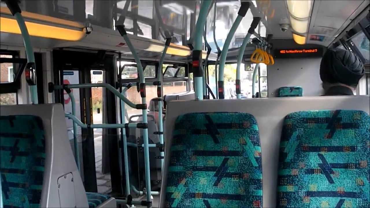 Route 482 Sp4 Sp4 Yn56fce Scania Omnicity 10 6m London