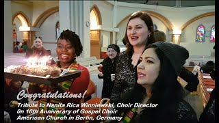 Amazing Love...by Gospel Choir American Church in Berlin, Germany