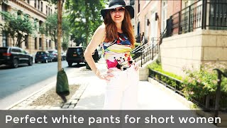 How to shop the perfect white pants – how to shop for women over 40