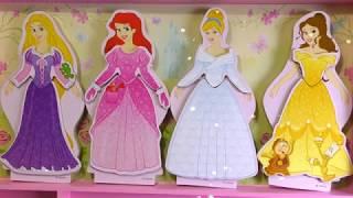 Diana dresses the Princesses