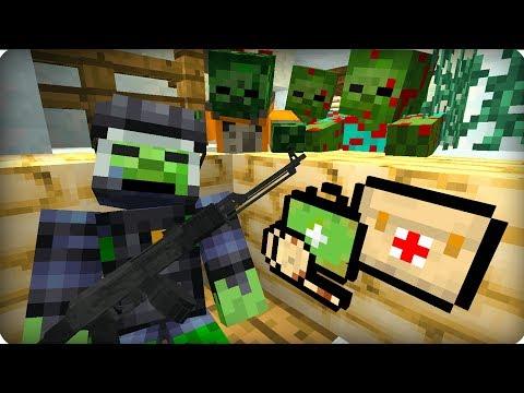 Он держался до последнего [ЧАСТЬ 6] Зомби апокалипсис в майнкрафт! - (Minecraft - Сериал)