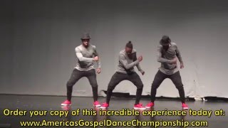americas gospel dance championship 2016 with canton jones