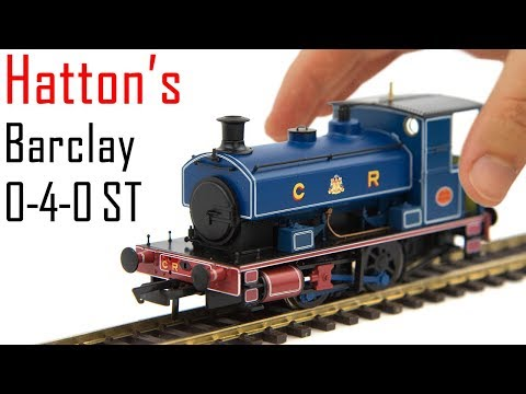 Unboxing the New Hatton's Andrew Barclay 0-4-0 Saddle Tank Engine