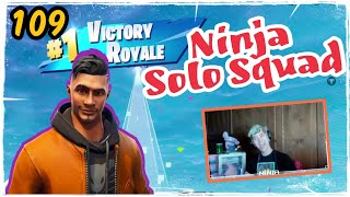 Ninja Maverick Skin Fortnite Game Play Solo Squad Season 5