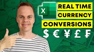 How to do Real Time Currency Conversion in Excel screenshot 5
