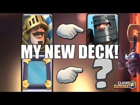 "CLAN WARS OR KARAOKE !! ""Clash Royale"" My best deck!!"