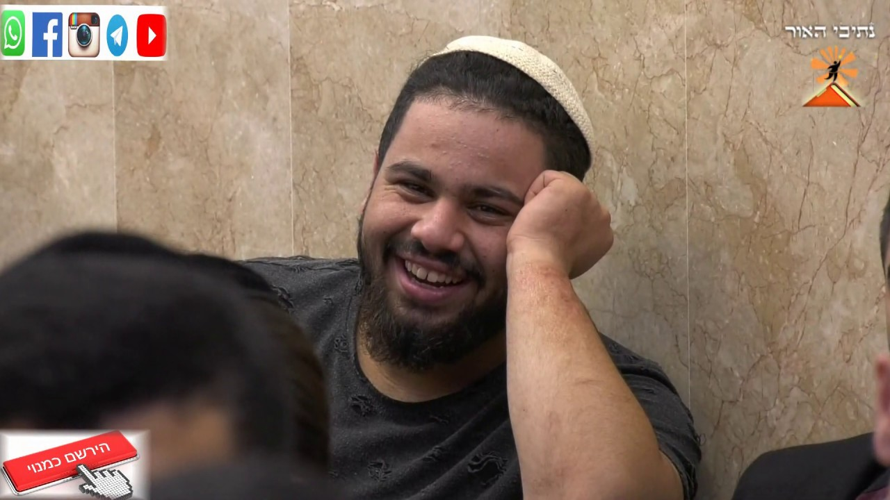 הרב יונתן בן משה והרב רביד נגר בערב מחזק ומצחיק -שעתיים תורה באור יהודה 18.11.18