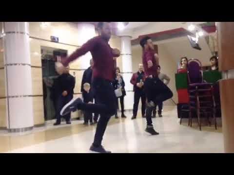 Парни Классно Танцуют На Кавказе  Ruslan Yusupov ve Reqqas Teymur Gozel Reqsi Lezginka Star 2019
