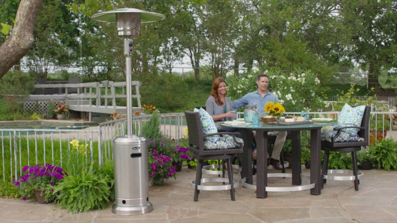 Dyna Glo Dgph102ss 41000 Btu Deluxe Stainless Steel Patio Heater