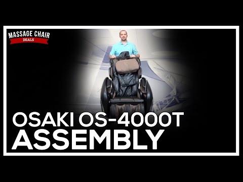 Osaki OS-4000T Massage Chair Assembly