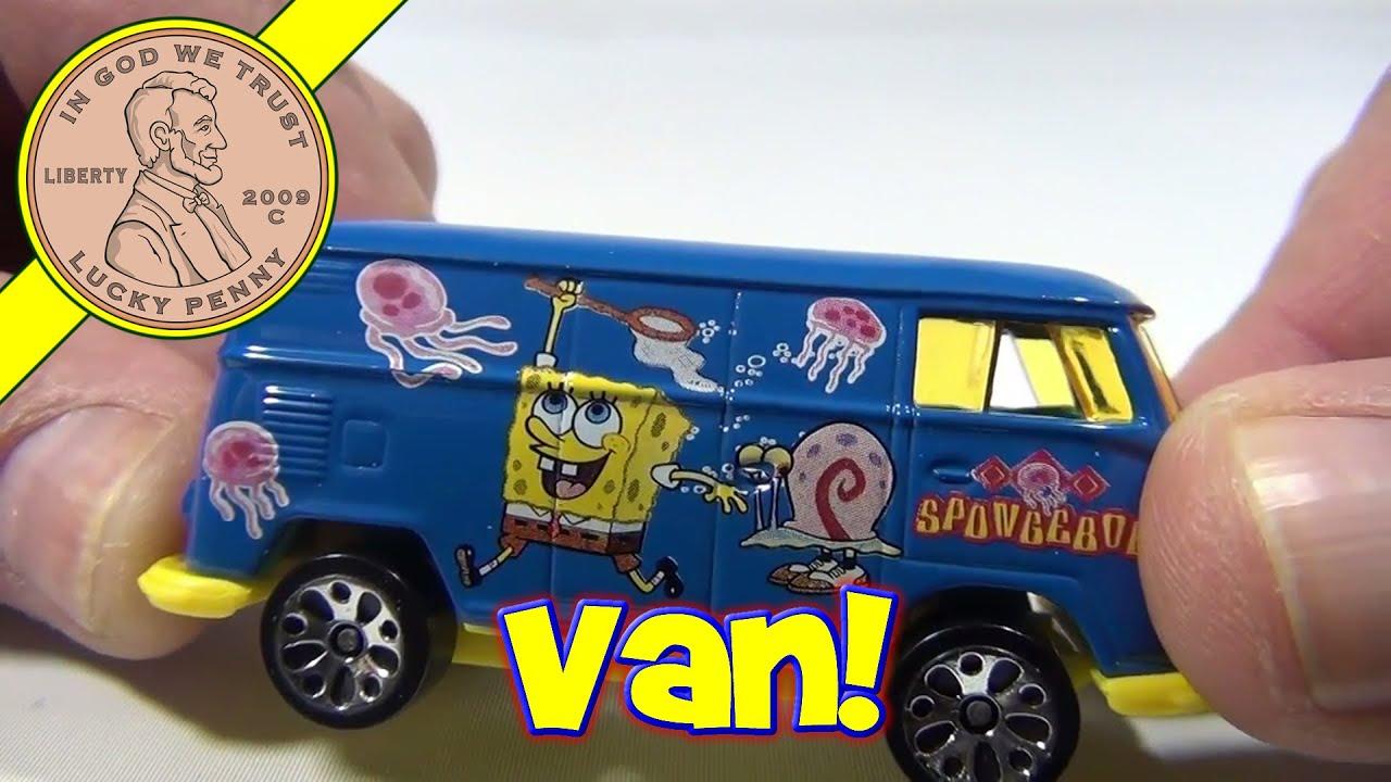 SpongeBob SquarePants RV Delivery Van Matchbox Cars, 1999 Mattel ...