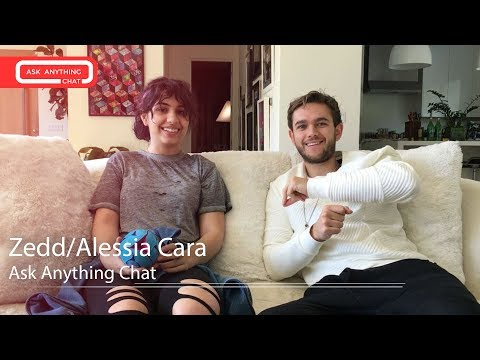 Zedd Alessia Cara MRL Ask Anything Chat w/...