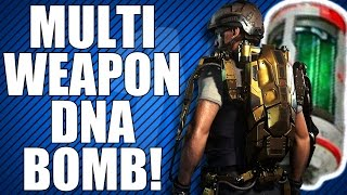 "Advanced Warfare: Fast ""Multi-Weapon"" DNA Bomb on Retreat! (DNA Saturday)"