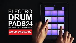 new electro drum pads 24 android ios