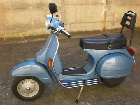 vespa px 125 youtube. Black Bedroom Furniture Sets. Home Design Ideas