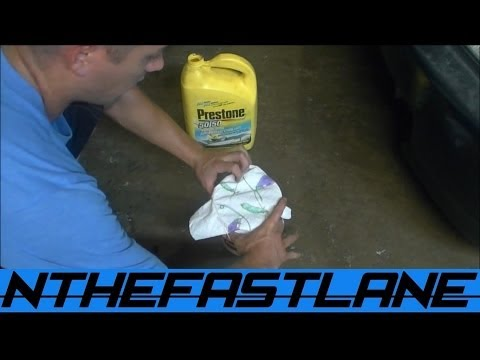 "Save Your Antifreeze ""How To"""