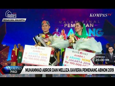 Muhammad Abror Dan Melliza Xaviera Pemenang Abnon 2019