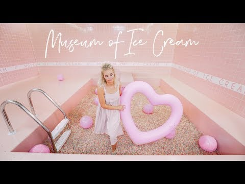 I WENT TO THE MUSEUM OF ICE CREAM!