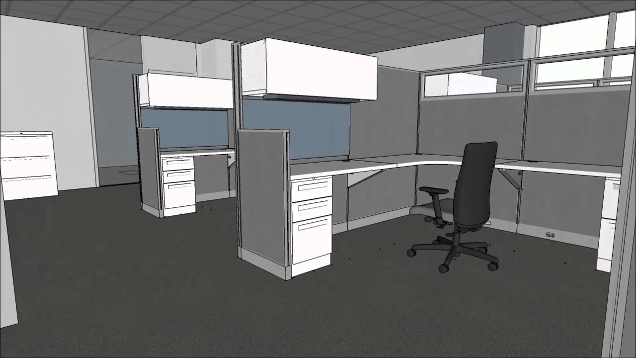 Kentwood Office Furniture Design E Planning Fly Through