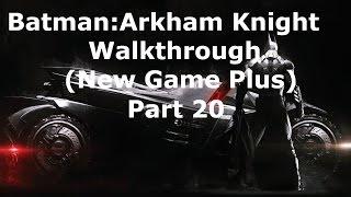 Batman: Arkham Knight Walkthrough - Part 20 - Arkham Knight Drill Bossfight
