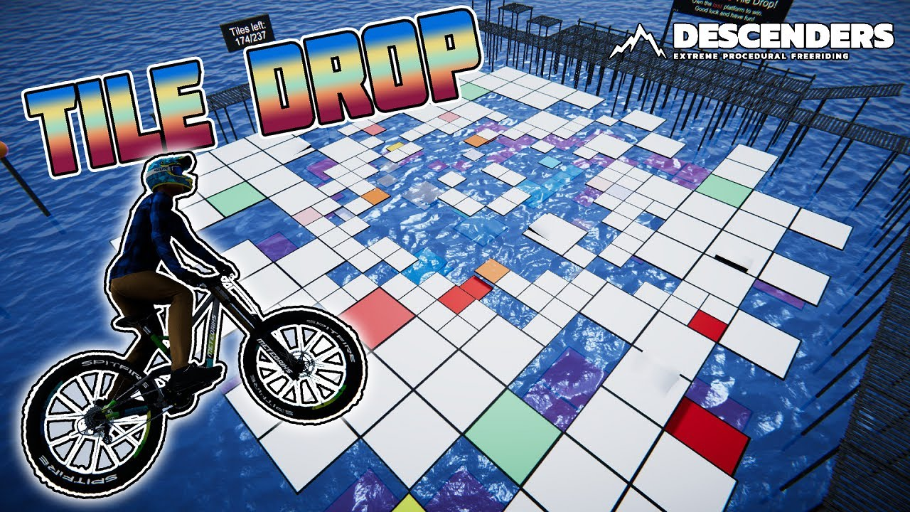 Tile Drop is IMPOSSIBLE! | Descenders