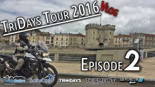 [Episode 2] Tridays Tour 2016 with GlobeBusters - Day 2 (Vlog) with Rhys Lawrey (2moroRider)