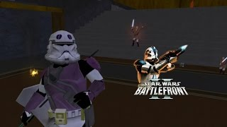 Star Wars Battlefront 2 Mods: Jedi Temple: Order 66