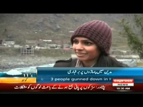 Madyan swat valley Snowfall and Rain