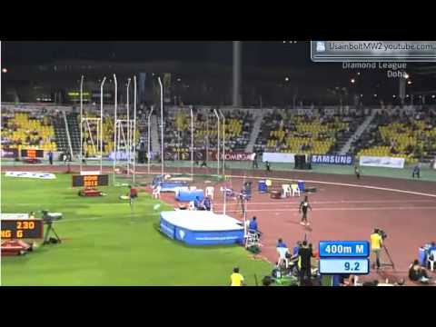 400M Men Diamond League Doha Qatar 2012