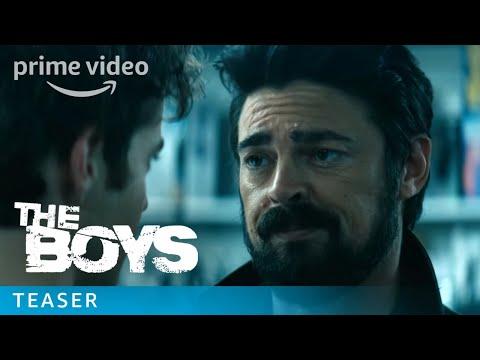 The Boys - :15 Butcher & Hughie Teaser | Prime Video