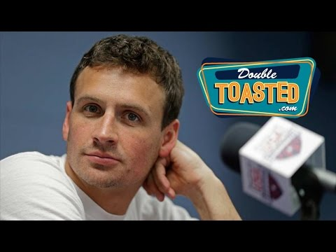 RYAN LOCHTE OVER-EXAGGERATES RIO OLYMPICS ROBBERY STORY -  Double Toasted Highlight