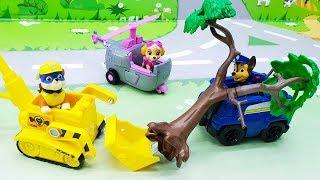 Видео с игрушками Щенячий Патруль для детей - Мальчишки! Мультики про машинки для мальчиков.