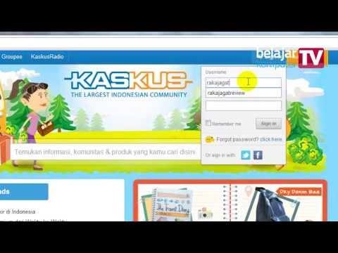 Tutorial Posting dan Diskusi di Forum (Kaskus.com)