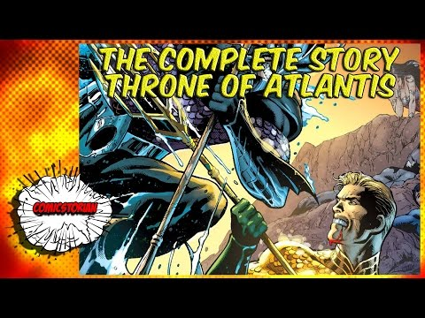 Throne of Atlantis (Justice League) - Complete Story